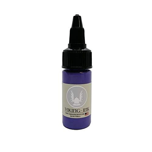 VIKING INK - Encre de Tatouage - LIGHT PURPLE 0.5oz (15ml) - Les meilleures couleurs et noirs - Vegan