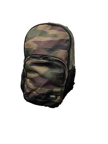 Vans SPORTY BACKPACK Camo Green Brown Black Day pack Daybreak Bag Boy Girl Causal Travel Laptop