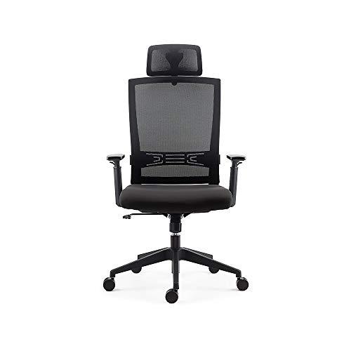 Staples 2719543 Tarance Mesh and Fabric Task Chair Black