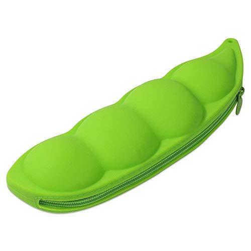 Durable Étui À Crayons En Silicone Poche À Crayons Mignon Étui À Crayons Pochette Instaurateur Pour Étudiants Enfants Garçons Filles Douces Stylos Pochette (Color : Light Green)