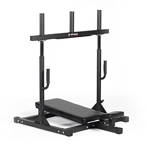 Titan Fitness Vertical Leg Press...