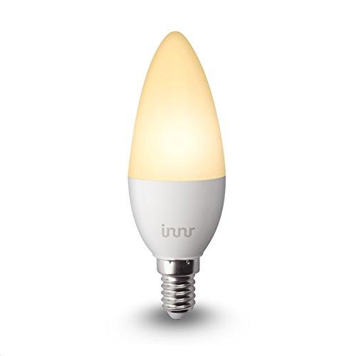 Innr E14 Smart LED Kerze, warmweißes Licht, dimmbar, kompatibel mit Philips Hue*, Alexa & Osram Lightify, RB 145 (1-Pack)