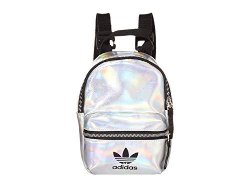 adidas Metallic Mini PU Backpack Silver Metallic/Iridescent One Size