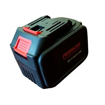 Batería de repuesto Ferrcan 20V 6.0Ah/LI-ion