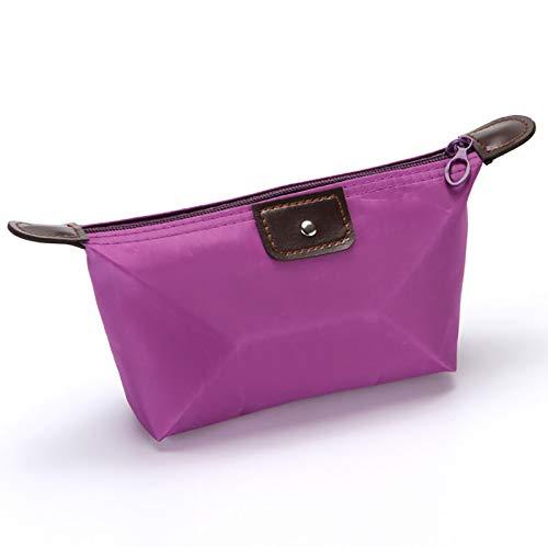 Bolsa de cosméticos multifuncional portátil, bolsa de cosméticos de bola de masa de nailon, impermeable, almacenamiento, bolsa de baño, bolsa de viaje para cosméticos, bolsa de almacenamiento para art