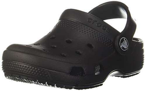 Crocs Boy's Coast Black Clogs-3 UK (34.5 EU)(3 US) (204094-001)