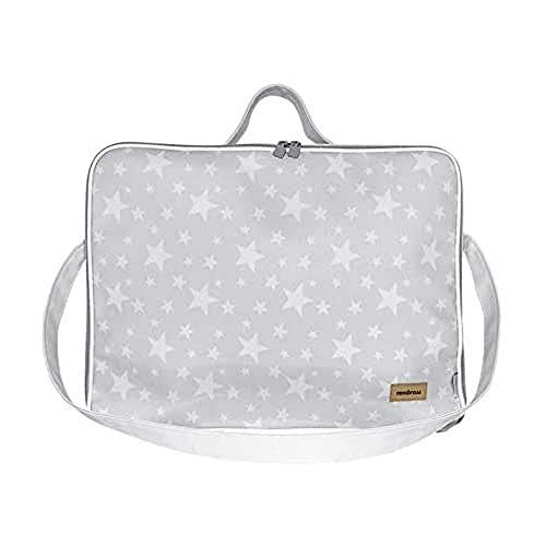 Cambrass Etoile - Bolso maternidad maleta para clínica, 12 x 47 x 36 cm, color gris