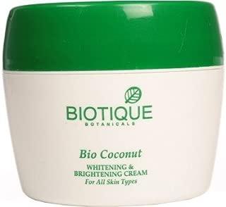 Biotique Bio Coconut Whitening & Brightening Cream(175 g)