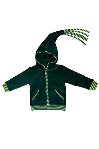 Leela Cotton Leela Cotton Baby / Kinder Nicky-Kapuzenjacke Baumwolle kbA