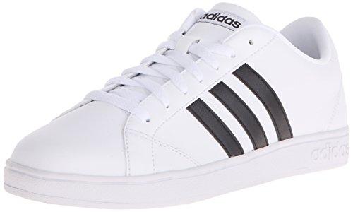 adidas NEO Women's Baseline W Casual Sneaker,White/Black/White,9.5 M US