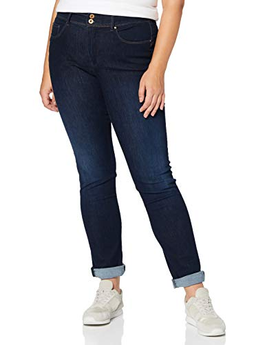 Salsa Jeans Push in Secret Soft Touch Jambe Slim délavage foncé