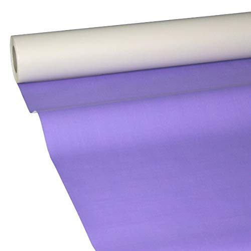 JUNOPAX 57006999 Papiertischdecke 50m x 1,15m lila nass- und wischfest
