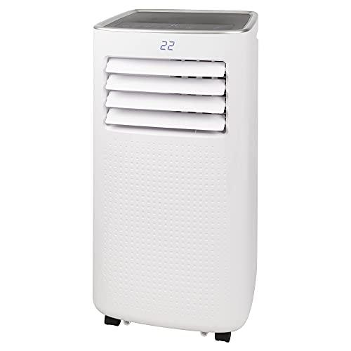 Bomann CL 6049 CB Klimagerät, 8000 BTU Kühlleistung, 3 Funktionen, LED-Display (Temp. und Timer), weiß