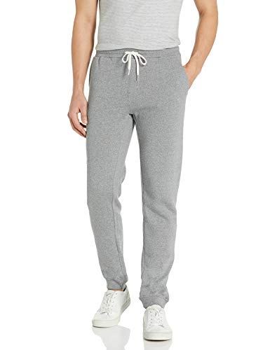 Quiksilver Men's Essentials Fleece Pant, Light Grey Heather, XL