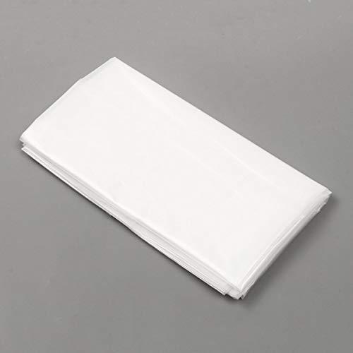 ZANGAO Weiß Teichfolie Underlay undurchlässige Wasserdicht Geomembranes Schutz Verstärkter HDPE Pool Teichfolien Landschaftsbau 6 Größe (Color : White, Size : 2x4m)