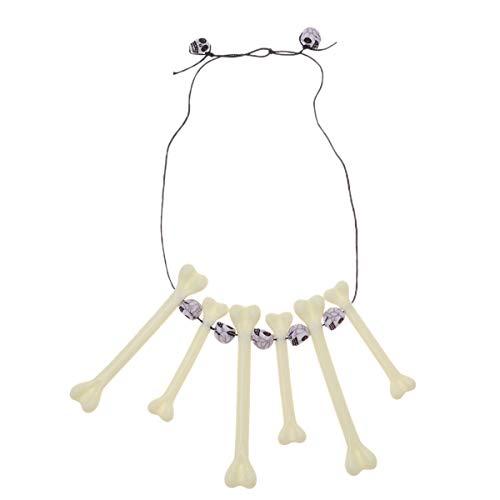 AmosfunSimulation - Collar de hueso, diseño de calavera y calavera