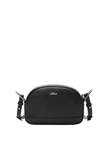 s.Oliver (Bags Damen 39.001.94.3601 Tasche Umhängetasche, Black, 5x14x21.5 cm