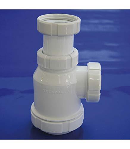 WolfPack 4110227 Sifon Botella Extensible T-4 1 1/2 Tuerca Loca