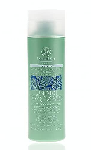 DOMUS OLEA TOSCANA SHAMPOO MICELLAIRE CUTE SEBORROIQUE 200 ml pour peau séborroïque, pellicules, rougeurs, démangeaisons, perte de cheveux temporaire