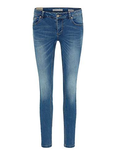BROADWAY NYC FASHION Damen Jeans Jeans Lou Blue Denim L (30-31)