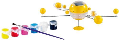 Playtastic NC1626-944 Caisse solaire - système de sol, moteur et transmission solaire kit de panneaux solaires, jaune - version allemande