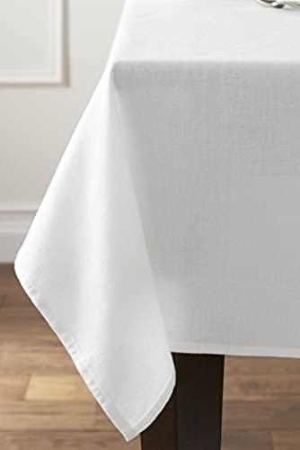 Le Chateau Easy Care - Juego de servilletas (4 unidades), color blanco