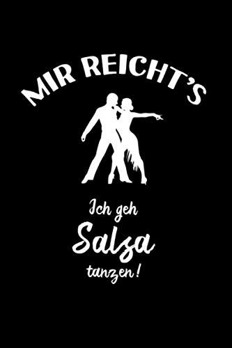 Salsa: Ich geh Salsa tanzen: Notizbuch / Notizheft für Salsa Oberteil Kleidung A5 (6x9in) liniert mit Linien