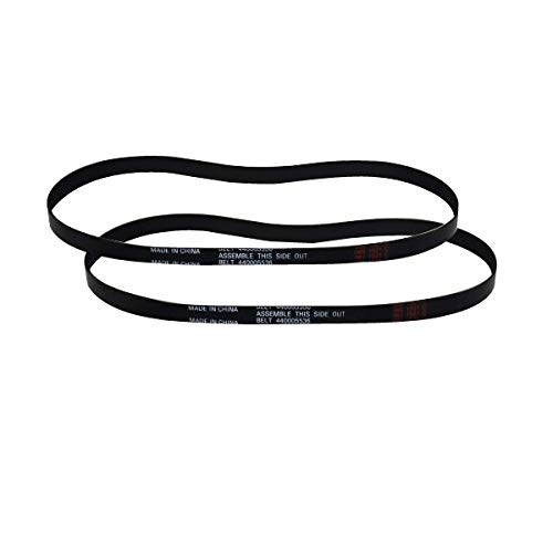 TVP 2 Genuine Replacement For Hoover Dual Power Max Carpet Cleaner FH51000, FH51001, FH51002 Power Path Belt 440005536