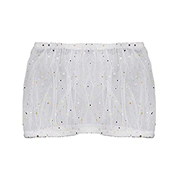 Bird Cage Cover Bird Seed Guard Catcher Bird Cage Skirt Mesh Net Cover for Perroquets Perruche Ara