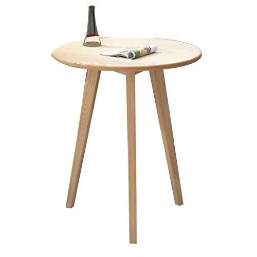 Gehumaniseerd ontwerp Coffee Shop onderhandelingstafel, Houten Single Layer Koffietafel Appartement Parlor Sales Department Lijst van de ontvangst Glad aanrecht (Color : #2, Size : 60 * 60CM)
