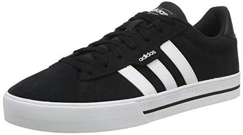 adidas Herren DAILY 3.0 Fitnessschuhe, Negbás/Ftwbla/Negbás, 42 2/3 EU