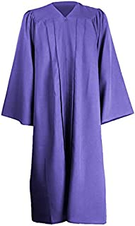 GraduationMall Graduation Gown - Unisex Premium Matte Graduation Robe Only 12 Colours for Graduation Ceremony