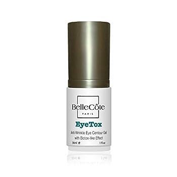 Eyetox Collagen Eye Cream - Botox-like Lifting Serum - Plumps Wrinkles Under Eye Crows Feet and Eyelid Area - 1 oz - BelleCote