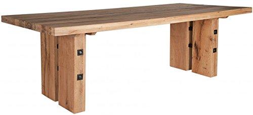 Sit Möbel Esstisch 240x110 cm Balkeneiche geölt massiv Woody 11-00998