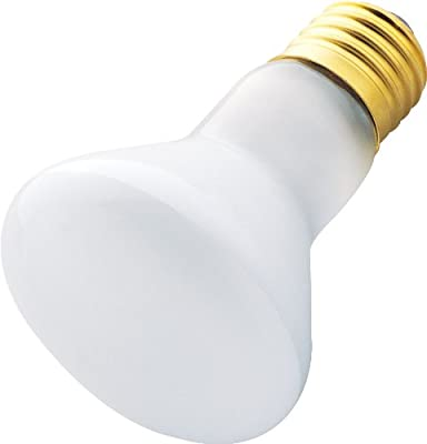 Westinghouse 0370000, 45w, 120v Frosted Incand R20 Light Bulb, 2000 Hour 380 Lumen, 6-Pack