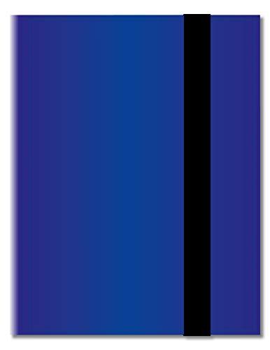 Arkero-G® 18-Pocket 18-Pocket Pro Album - Blau / Blue - 360 Karten Binder - Tauschalbum / Sammelalbum z.B. für MTG Magic, Pokemon, YuGiOh, Match Attax, Lego Ninjago