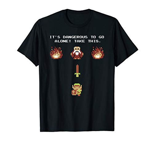 Nintendo Zelda Classic NES Epic Intro TAKE THIS! T-Shirt