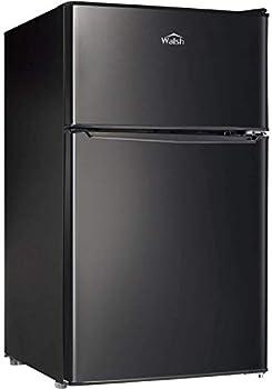 Walsh WSR31TBK 3.1 Cu.Ft Compact Dual Door Refrigerator
