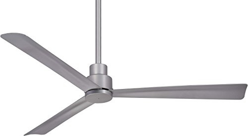 Minka Aire F786-SL Simple - 44' Ceiling Fan, Silver Finish with...