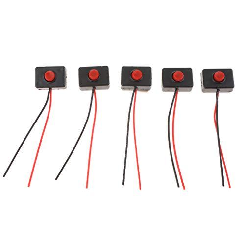 #N/a Interruptor de Botón para Vehículos, Tamaño 30 X 20 X 15 Mm