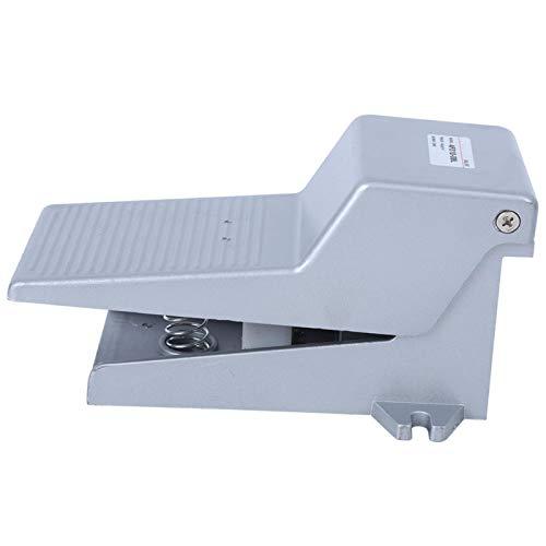 Interruptor de pie 0-0.8Mpa PT1 / 4 Válvula de pedal neumática de 2 posiciones y 5 vías para equipos de impresión con bloqueo de cubierta