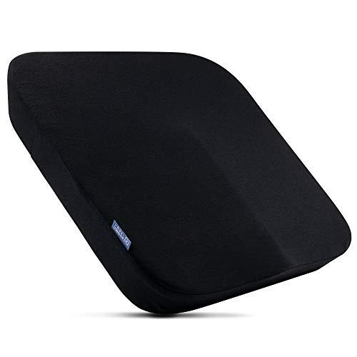 DYNMC you Ergonomisches Sitzkissen Bürostuhl aus Visko Schaum – Sitzkissen Auto mit angenehmem Härtegrad