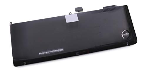Batterie 7200mAh (10.95V) vhbw pour Ordinateur Portable Notebook Apple MacBook Pro 15 comme A1321