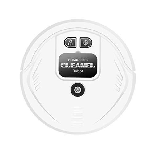 LSXLSD Robot de Barrido automático Hogar USB Cargador y Limpieza Máquina de Limpieza Smart Aspirador (Color : White)