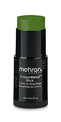 Mehron Makeup CreamBlend Stick - Body Paint (.75 oz) (Green)