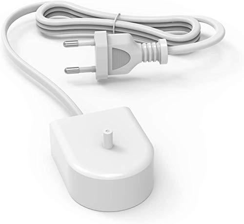 NEUE DAWN Cargador de viaje de Cepillo dental eléctrico para Philips Sonicare HX6100 HX3120 HX6000 HX6530 HX6710 HX6750 HX6780 HX8140 HX8211 HX8240 HX9112 HX9140 HX9141 HX918 Adaptador de repuesto