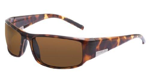Bolle King Sunglasses, Dark Tortoise, Polarized A-14 oleo AF