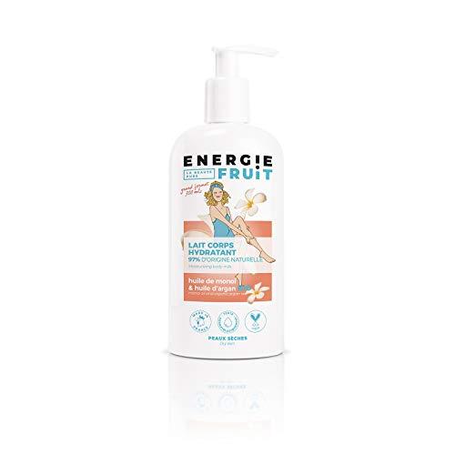 Energie Fruit Lait Hydratant sans Silicone Monoï/Huile d'Argan Bio - 300 ml