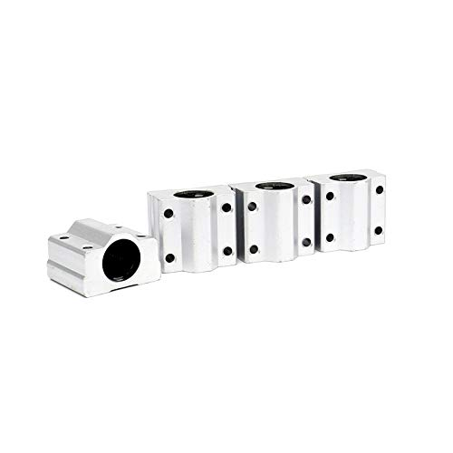 FKG SCS10UU Linear Motion Ball Bearing Bore Dia 10mm, Set of 4