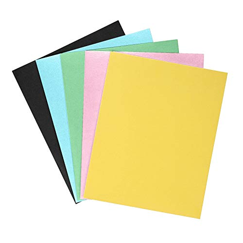 Life Basket  Office Portable 2 Pocket 3-Hole Punched Portfolio Folder Lot of 5 Colors Home & Garden Tools & Home Improvement Christmas for Faclot